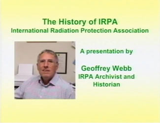 History of IRPA :: A video prepared by Geoff Webb, Past President of IRPA.